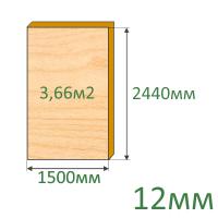 Фанера 12х2440х1500 мм
