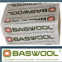 Базальтовая вата BASWOOL Фасад 1200х600х100 (6 плит)