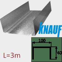 Профиль ПН-6 100/40 L=3м Knauf