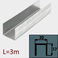 Профиль ПН-20/17 L=3м
