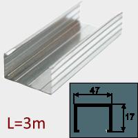 Профиль ПП-47/17 L=3м