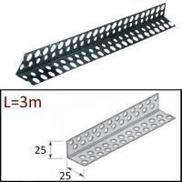 Профиль угловой 25/25  L=3м