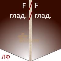 Ламинированная фанера 2440х1220 15мм F/F (гл./гл.)