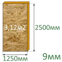 Плита OSB-3 2500x1250x9 мм