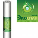 Гидро-ветрозащитная мембрана Экоспан-Строй А 70м2