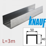 Профиль ПН-2 50/40 L=3м Knauf