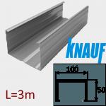 Профиль ПС-6 100/50 L=3м Knauf
