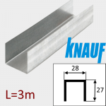 Профиль ПН-28/27 L=3м Knauf